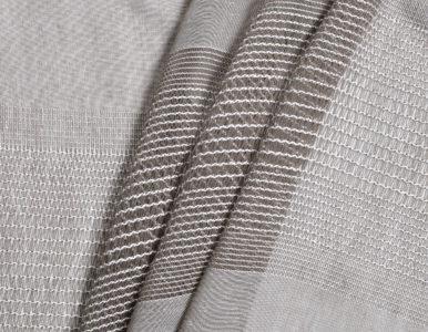 Тюль с плетением