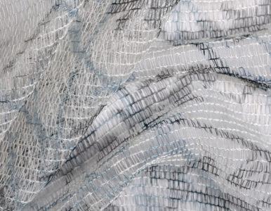 Тюль сетка с рисунком