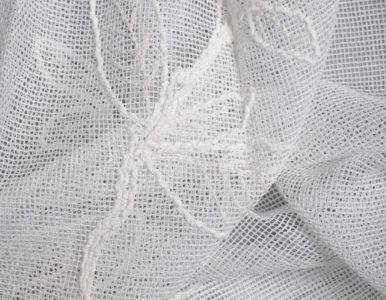 Тюль сетка с вышивкой цветы