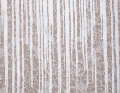 Тюль с абстрактной вышивкой