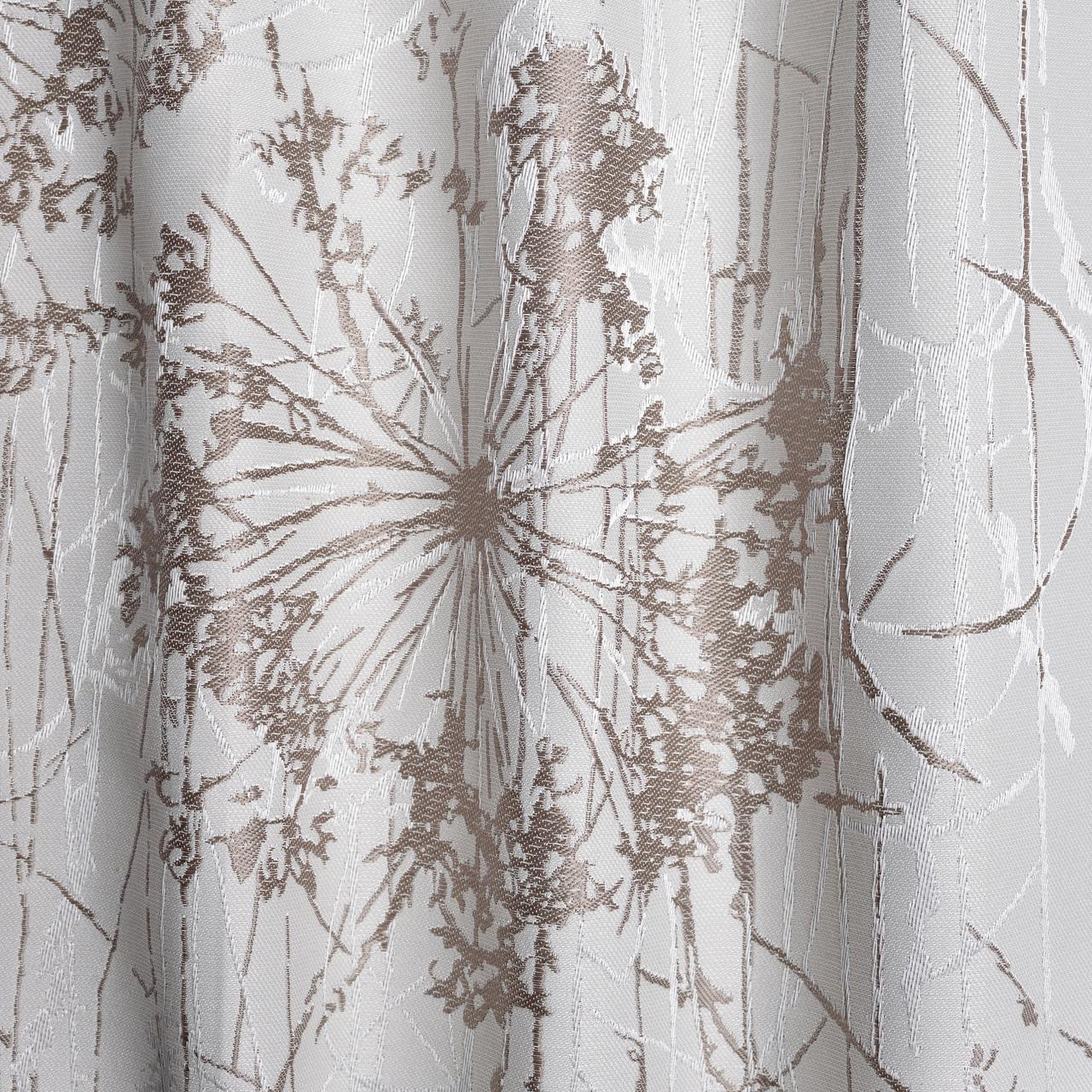 Шторная ткань в одуванчики