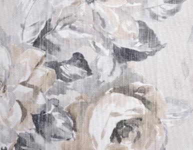 Шторная ткань с цветочным рисунком