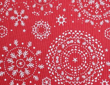 Ткань на скатерть Новогодняя